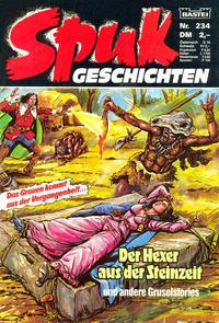 Cover Thumbnail for Spuk Geschichten (Bastei Verlag, 1978 series) #234