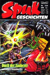 Cover Thumbnail for Spuk Geschichten (Bastei Verlag, 1978 series) #236
