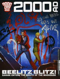 Cover for 2000 AD (Rebellion, 2001 series) #2063