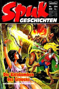 Cover Thumbnail for Spuk Geschichten (Bastei Verlag, 1978 series) #294