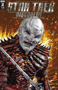 Cover Thumbnail for Star Trek: Discovery: The Light of Kahless (IDW, 2017 series) #2 [Cover A]