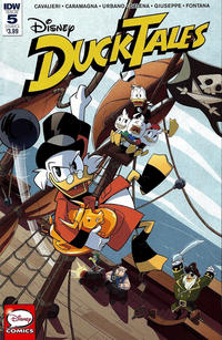 Cover Thumbnail for DuckTales (IDW, 2017 series) #5
