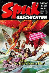 Cover Thumbnail for Spuk Geschichten (Bastei Verlag, 1978 series) #228