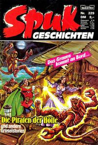 Cover Thumbnail for Spuk Geschichten (Bastei Verlag, 1978 series) #229