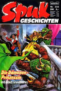 Cover Thumbnail for Spuk Geschichten (Bastei Verlag, 1978 series) #232