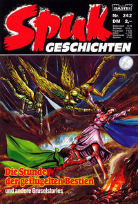 Cover Thumbnail for Spuk Geschichten (Bastei Verlag, 1978 series) #242