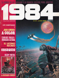 Cover Thumbnail for 1984 (Toutain Editor, 1978 series) #41