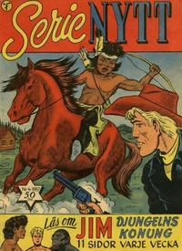 Cover Thumbnail for Serie-nytt [Serienytt] (Formatic, 1957 series) #4/1957