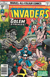 Cover Thumbnail for The Invaders (Marvel, 1975 series) #13 [British]