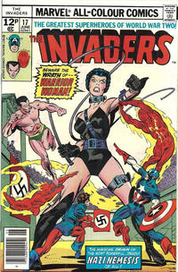 Cover Thumbnail for The Invaders (Marvel, 1975 series) #17 [British]