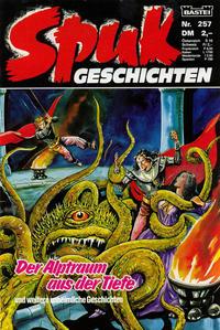 Cover Thumbnail for Spuk Geschichten (Bastei Verlag, 1978 series) #257