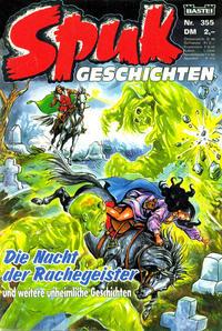 Cover Thumbnail for Spuk Geschichten (Bastei Verlag, 1978 series) #355