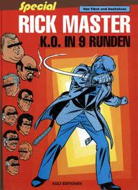 Cover Thumbnail for Rick Master (Kult Editionen, 1997 series) #31 - K.O. in 9 Runden