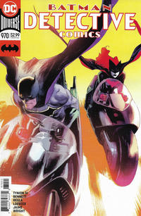 Cover Thumbnail for Detective Comics (DC, 2011 series) #970 [Rafael Albuquerque Cover]