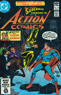 Cover Thumbnail for Action Comics (DC, 1938 series) #521 [Direct]
