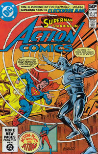 Cover Thumbnail for Action Comics (DC, 1938 series) #522 [Direct]