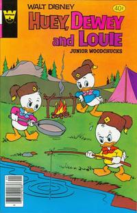 Cover Thumbnail for Walt Disney Huey, Dewey and Louie Junior Woodchucks (Western, 1966 series) #59 [Whitman]