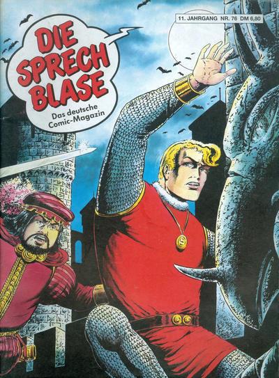 Cover for Die Sprechblase (Norbert Hethke Verlag, 1978 series) #76