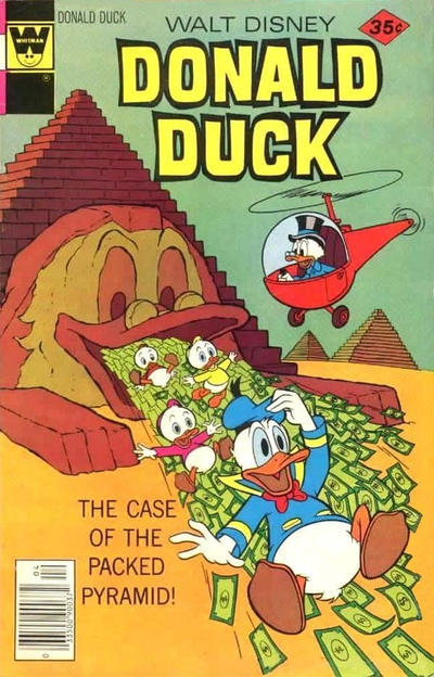 Cover for Donald Duck (Western, 1962 series) #194 [Gold Key]