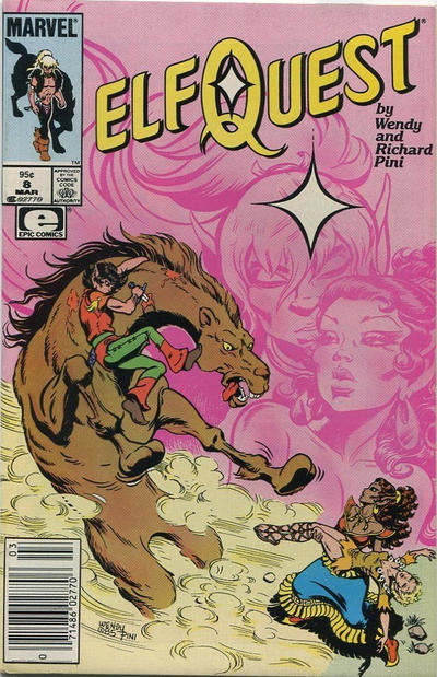 Cover for ElfQuest (Marvel, 1985 series) #8 [Direct]