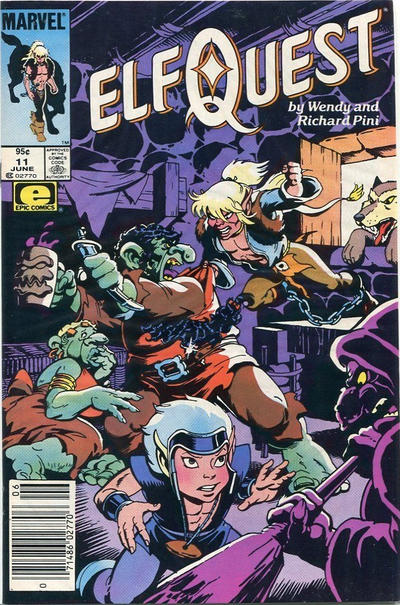 Cover for ElfQuest (Marvel, 1985 series) #11 [Newsstand]