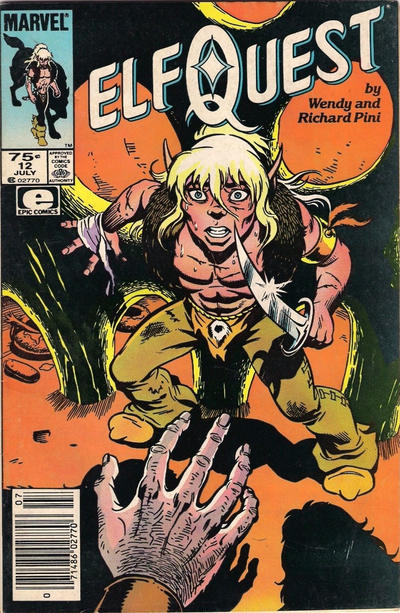 Cover for ElfQuest (Marvel, 1985 series) #12 [Direct]