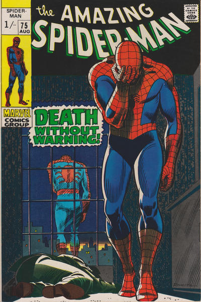 Cover for The Amazing Spider-Man (Marvel, 1963 series) #75 [British]