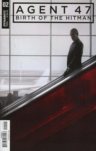 Cover for Agent 47: Birth of the Hitman (Dynamite Entertainment, 2017 series) #2 [Cover B Gameplay]