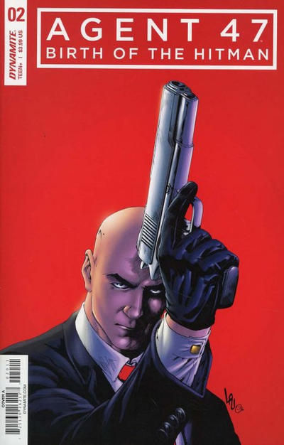 Cover for Agent 47: Birth of the Hitman (Dynamite Entertainment, 2017 series) #2 [Cover D Virgin Art Jonathan Lau]