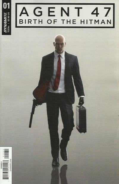 Cover for Agent 47: Birth of the Hitman (Dynamite Entertainment, 2017 series) #1 [Cover F Virgin Art Philip Tan]
