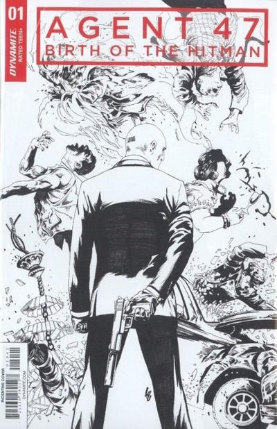 Cover for Agent 47: Birth of the Hitman (Dynamite Entertainment, 2017 series) #1