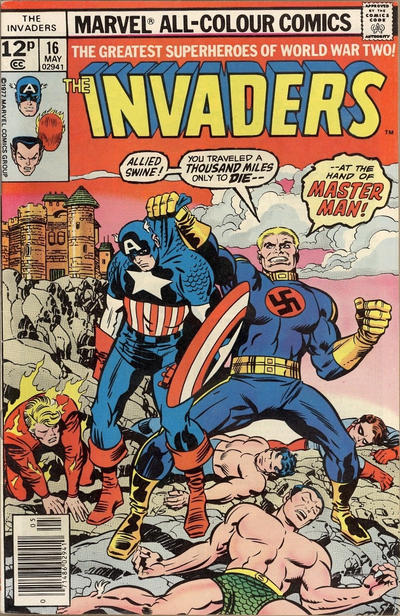 Cover for The Invaders (Marvel, 1975 series) #16 [Regular Edition]