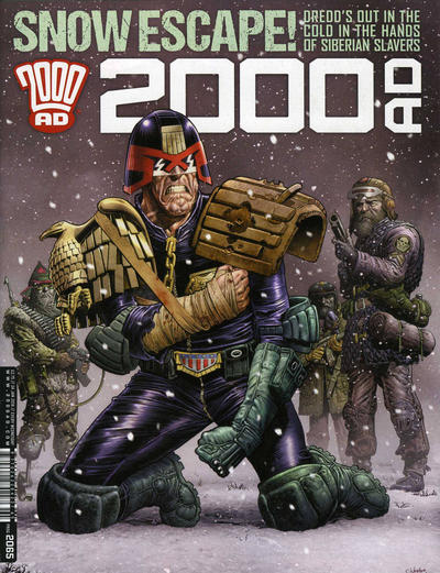Cover for 2000 AD (Rebellion, 2001 series) #2065