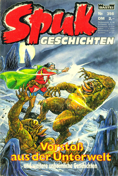 Cover for Spuk Geschichten (Bastei Verlag, 1978 series) #356