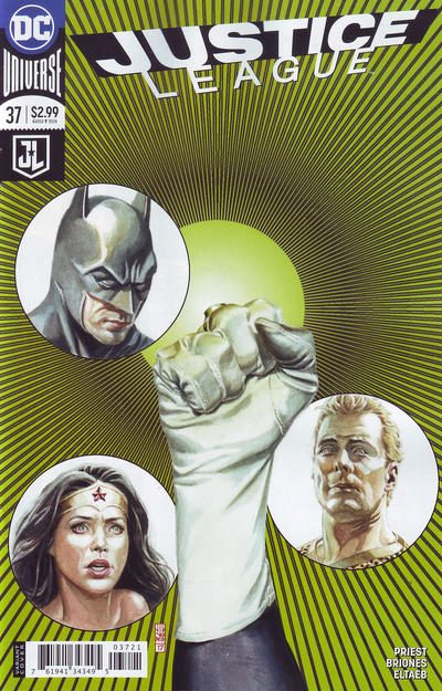 Cover for Justice League (DC, 2016 series) #37 [J. G. Jones Cover]