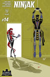 Cover Thumbnail for Ninjak (2015 series) #14 [Cover C - Jeffrey Veregge]