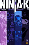 Cover for Ninja-K (Valiant Entertainment, 2017 series) #3 Pre-Order Edition
