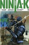 Cover for Ninja-K (Valiant Entertainment, 2017 series) #3 [Cover C - Kenneth Rocafort]
