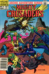Cover for The Mighty Crusaders (Archie, 1983 series) #7 [Newsstand]