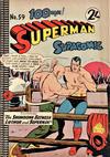 Cover for Superman Supacomic (K. G. Murray, 1959 series) #59