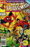 Cover for The Amazing Spider-Man (Marvel, 1963 series) #343 [Newsstand]