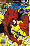 Cover for The Amazing Spider-Man (Marvel, 1963 series) #345 [Newsstand]