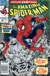 Cover for The Amazing Spider-Man (Marvel, 1963 series) #350 [Newsstand]