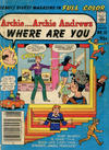 Cover for Archie... Archie Andrews Where Are You? Comics Digest Magazine (Archie, 1977 series) #15 [Canadian]