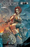Cover Thumbnail for Belladonna: Fire and Fury (2017 series) #3 [Matt Martin Shield Maiden Cover]