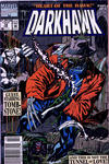 Cover for Darkhawk (Marvel, 1991 series) #12 [Newsstand]
