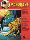 Cover for Mandrake - Albi del Vascello - Serie cronologica (Edizioni Fratelli Spada, 1972 series) #12