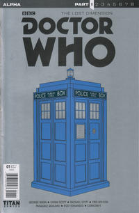 Cover Thumbnail for Doctor Who: The Lost Dimension Alpha (Titan, 2017 series)  [Cover A]