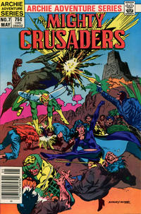 Cover Thumbnail for The Mighty Crusaders (Archie, 1983 series) #7 [Newsstand]