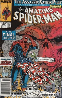 Cover Thumbnail for The Amazing Spider-Man (Marvel, 1963 series) #325 [Newsstand]